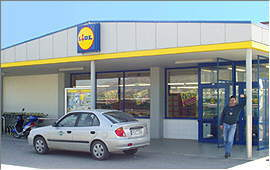 Ierapetra: Europe's southernmost Lidl market