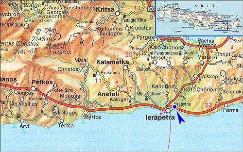 Livadia: Site Map